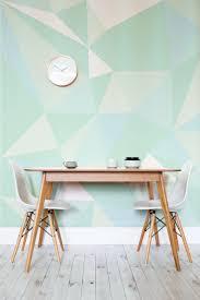 home interior design wallpapers mint geometric wallpaper mural muralswallpaper co uk wallpaper