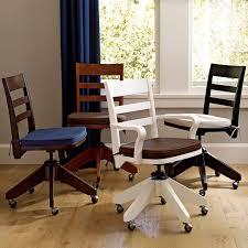 swivel armless desk chair cushion pbteen