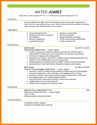 Resume Samples Of Teachers by 4 Resumes Samples For Teachers Sephora Resume