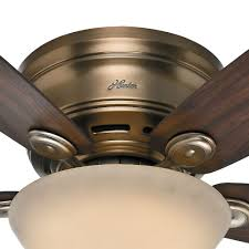 Low Ceiling Fans With Lights by Perfect Hunter Low Profile Ceiling Fan With Light 64 For Your