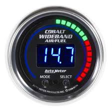 wide band auto meter 6178 cobalt wideband air and fuel ratio kit