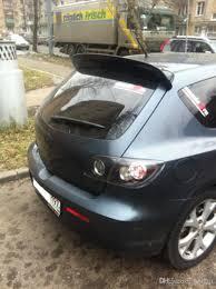 mazda 3 hatchback 2017 carbon fiber 04 09 mazda3 m3 3 hatchback 5d 5dr rear wing