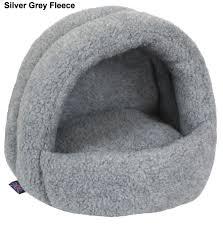 Hooded Dog Bed Fleece Hooded Cat Beds Igloo