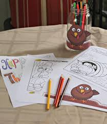Kids Coloring Table 40 Free Thanksgiving Coloring Pages For Kids U0026 Adults Edventures