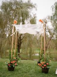 chuppah poles 15 cool wedding chuppah ideas hative