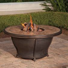 Table Firepit Agio Balmoral 48 Porcelain Top Gas Pit Table