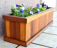 flower planter plans planters wooden flower planters wood planter