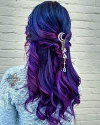 44 blue and purple hair ideas that will your mind