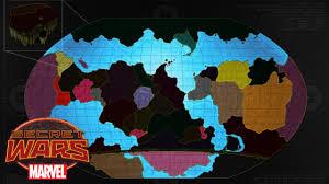 Marvel Universe Map Secret Wars U0027 Battleworld Expands Comic Vine
