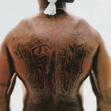 50 cent back piece southside queens ny tattoos celebrities