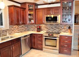 kitchen backsplash ideas with oak cabinets ellajanegoeppinger com