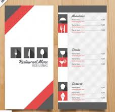 menu template restaurant menu templates expin franklinfire co