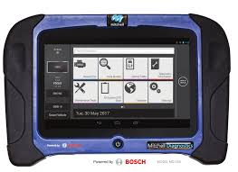 mitchell gets into scanner business partners with bosch on