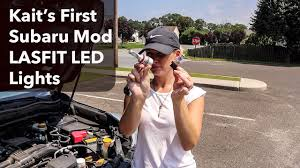 first subaru forester kait u0027s first mod 2014 subaru forester lasfit led light upgrade