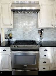 black and white kitchen backsplash tile home improvement design