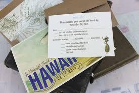hawaiian destination wedding invitations wedding invitation sample