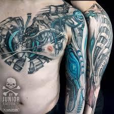 biomechanical tattoo for knee biomechanical tattoo heart best tattoo ideas gallery