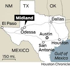 Midland Texas Map Oil Workers Who Stayed Help Midland Bounce Back After The Bust