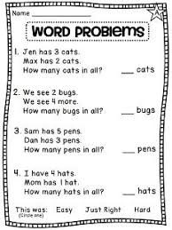 addition word problems grade maths worksheets for grade 1 number names search