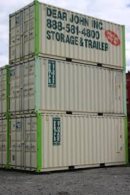 steel storage container rental dear john trailer rental