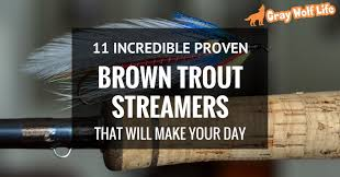 brown streamers 11 proven brown trout streamers that will make your day