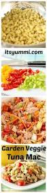 pasta salad with mayo garden veggie tuna mac salad recipe a healthy side dish