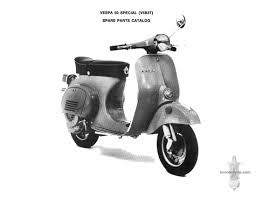 vespa 50 special usa v5b3t parts book