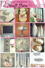 Thrift Store Diy Home Decor by 12 Creative Thrift Store Diy Art U0026 Decor Projects Arts And Classy