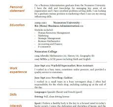 Supermarket Resume Examples by Homey Ideas Business Administration Resume 14 Business