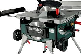ts 254 600668000 table saw metabo power tools