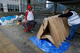 tents for origami style cardboard tents for homeless in brussels the new
