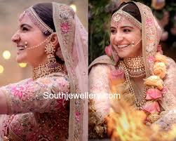 wedding jewellery anushka sharma s wedding jewellery jewellery designs