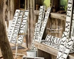 Custom Decorative Signs Farmhouse Sign Etsy