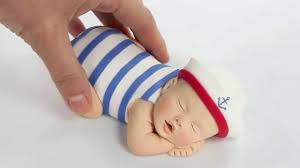 baby cake topper lil sculpture sailor baby cake topper product