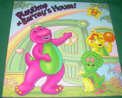 playtime at barney u0027s house lift the flap board book ad 254383
