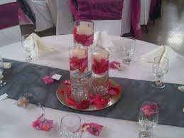 Anniversary Table Centerpieces by Silk Rose Petals In Glass Vase Google Search 25th Wedding