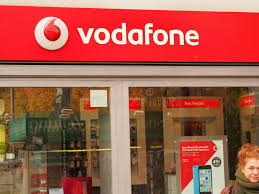 vodafone shop editorial stock image image of germany 34609609