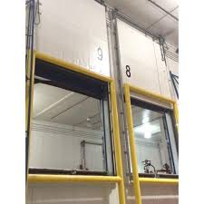 Overhead Door Manual 9 X 10 H Manual Vertical Lift Overhead Cooler Doors Barr