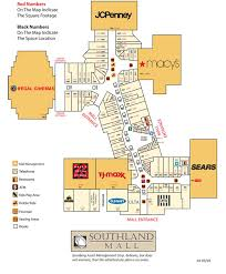directory southland mall