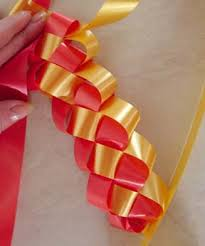 homecoming ribbon how to weave a braid ribbon the artful crafter