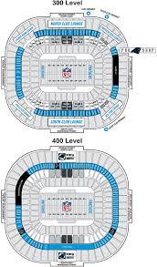 Stadium Floor Plans Carolina Panthers Permanent Seat Licences U0026 Club Seats