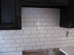 Subway Tile Backsplash Bathroom - appliances dark grout a good design bathroom ideas for design