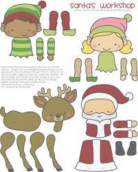 santasworkshop jpg 2 400 3 000 pixels dress up christmas papier