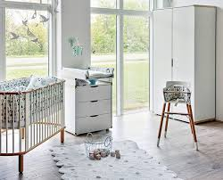 chambre de bébé design désign blanche chambre de bébé