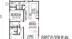 Small Two Bedroom House by 2 Bedroom Single Storey House Plan One Storey House Floor Plans In