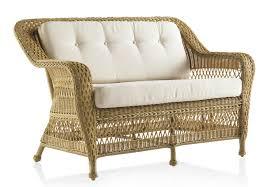 canapé de jardin 2 places canapé de jardin 2 places en résine tressée miel brin d ouest