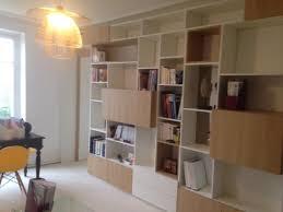 bureau bibliotheque transformation complète d un éaire bibliothèque dans un bureau
