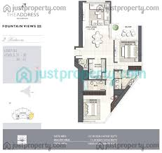 30 sq m address fountain views 3 floor plans justproperty com