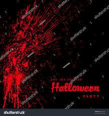 halloween background images vector blood spatter halloween background easy stock vector