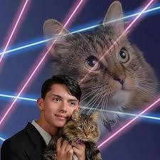 Portrait Meme - laser background portraits know your meme